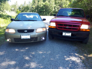looking for nissan sentra parts car 2000-2002