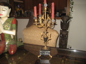 Antiques candelabra from 1940's