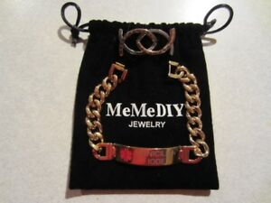 Medical Alert Bracelet / Bracelet Médicale !!! New / Neuf $25