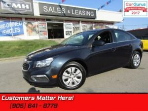 2015 Chevrolet Cruze LT w/1LT  - Bluetooth