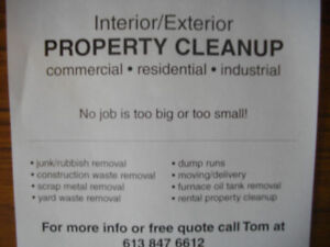 HOUSE ,GARAGE ,BARN , OUTBUILDING ,PROPERTY CLEAN UP