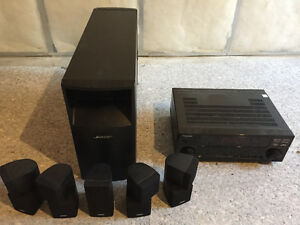 Bose Acoustimass 5.1 Home Theater System With Pioneer Amp