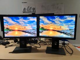 Two Dell 19inch Monitors P1913t