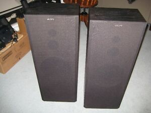 Two Sony Speakers