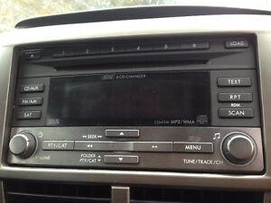 Radio d'auto Clarion 6 CD de Subaru impreza 2008-2014