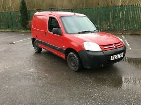 2004 54 Citroen Berlingo 1.9d enterprise 6 months mot ply lined