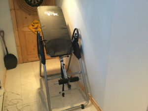 Inversion table ... like new condition (Sold ppu)