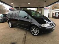 2007 VW Volkswagen Sharan 1.9 TDI PD SE 5dr MPV in BLACK