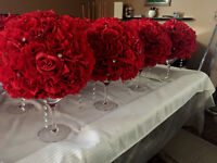 Beautiful Wedding Kissing Ball Centrepieces