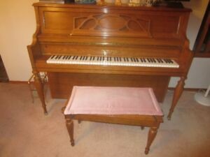Young Chang upright Piano and Bench