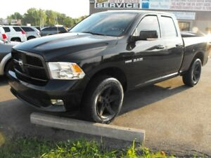 "2009 RAM 1500 SLT SPORT HEMI 4X4 LEATHER/CLOTH  20"" RIMS"