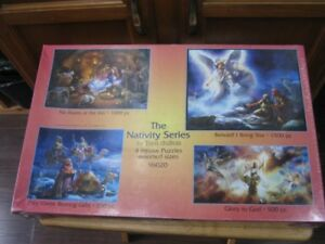 the nativity series. 4 jigsaw puzzles assorted sizes.new firm