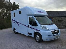 SOLD*** Horsebox 3.5t Citroen Relay 2.2HDi (120hp) 3.5t LWB Brand New Conversion