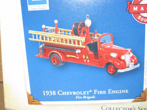 Hallmark 1938 Chevrolet Fire Engine