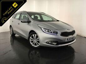 2O13 KIA CEED 2 ECODYNAMICS CRDI DIESEL ESTATE 1 OWNER KIA HISTORY FINANCE PX