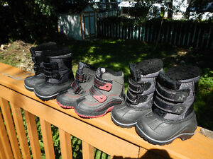 Never worn Baby Boots size 4 and 5
