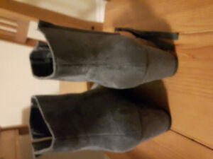Fall grey boots
