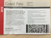 4 Guest Passes $80- Air Canada Maple Leaf Lounge