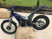 2017 Sherco ST 250cc Trials Bike With Ohlins Rear Shock