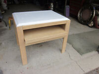 Oak End Table//TV Media Table