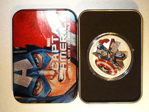Low mintage Captain America 1oz silver coin