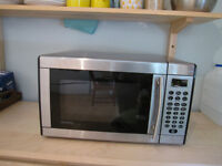 Danby stainless steel microwave - discount by July 3rd!