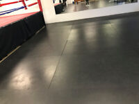 Gym Surface Matting - commercial Grade - moving!