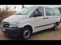 MERCEDES VITO 113 CDI TRAVELINER BlueEFFICIENCY LWB 9 seater 2013