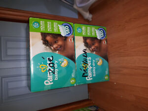Couches Pampers baby dry et cruisers