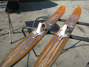 Water Skis- Wooden