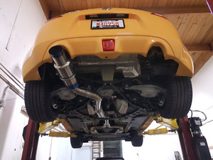 TOMEI Expreme Ti exhaust Cat back Y Pipe Nissan 350Z 370Z