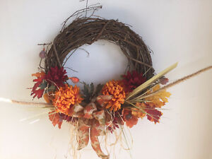 Hand Crafted Floral Wreaths