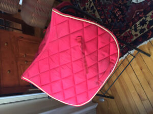 Various English and Western Saddle Pads