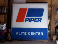 Piper Advertising Sign
