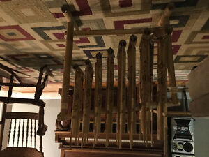 Indonesian Anklung Bamboo Instrument