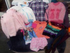 Girls clothes bundle age 4-5