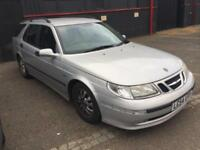 SAAB 9-5 2.0T AUTO VECTOR ESTATE..£365 PX TO CLEAR>MOT 21 OCTOBER>DRIVEAWAY