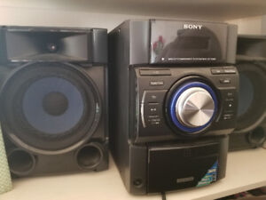 sony mini hi-fi component system