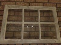 Window pane, picture frame etc.