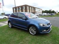 2014 Volkswagen Polo 1.4 TDI BlueMotion Tech SEL (s/s) 5dr