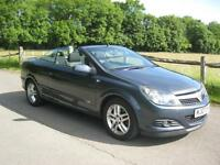 Vauxhall/Opel Astra 1.6 16v Coupe 2008MY Twin Top Sport, 1 Owner, 39000 Miles