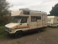 Swift merlin 4 berth over cab bed end kitchen 10 months mot Motorhome