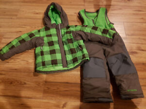 Columbia Boys 2T Jacket & Snowpants Like New Condition