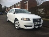 White Audi A3 1.9 TDI £2900