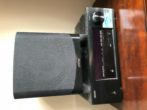 Denon reciever and Energy sub woofer for sale