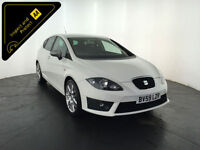 2009 59 SEAT LEON FR CR TDI DIESEL SERVICE HISTORY FINANCE PX WELCOME