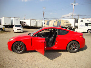 YOU'D LOOK GOOD IN RED - 2010 Hyundai Genesis