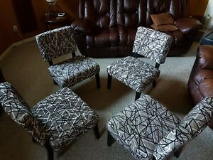 Four Accent Chairs