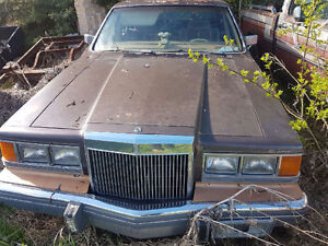 1983 Lincoln continental  for sale