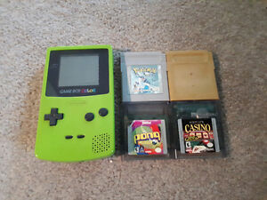 Game Boy Color + Games